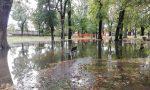 Maltempo Vercelli: Parco Kennedy allagato e fiume Sesia