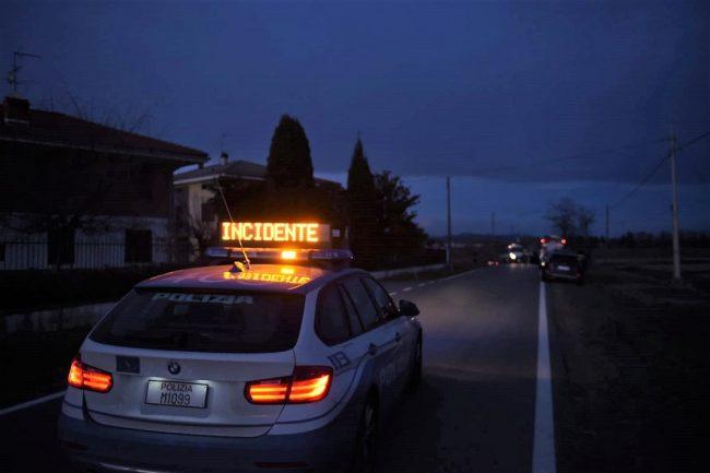 Incidente mortale: la vittima è una donna di Santhià
