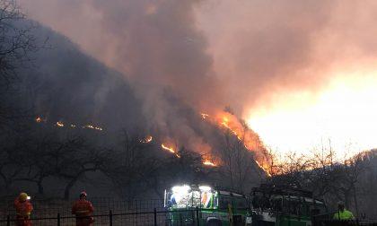 Incendio in Valsesia: partite le evacuazioni