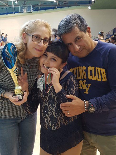 Elena e Martina &#8220&#x3B;perle delle rotelle&#8221&#x3B;
