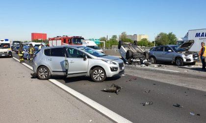 Schianto sull'Autostrada A4: quattro i feriti