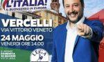 Salvini incontra i vercellesi