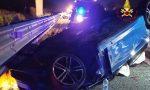 Incidente in autostrada: due auto coinvolte