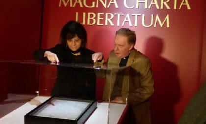La Magna Charta torna in Inghilterra
