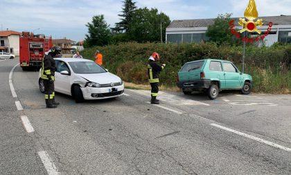 Giovane ferita in un incidente stradale