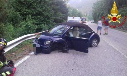 Schianto a Varallo: tre feriti, interviene l'elisoccorso