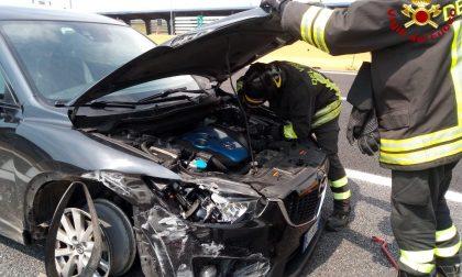 Rocambolesco incidente: conducente illeso