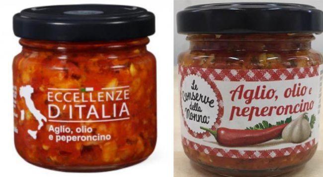 Pezzi di vetro nei vasetti di aglio, olio e peperoncino: lanciata l'allerta