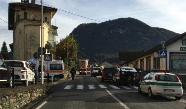 Borgosesia: incidente mortale