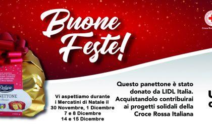 Croce Rossa e Lidl Italia: panettoni solidali