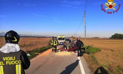 Saluggia: incidente stradale, due feriti
