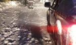 Alberi abbattuti dalla neve tra Pila e Piode