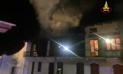 Incendio abitazione a Santhià