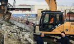 Cantieri in marcia per Centro Nuoto e muro ex Enal