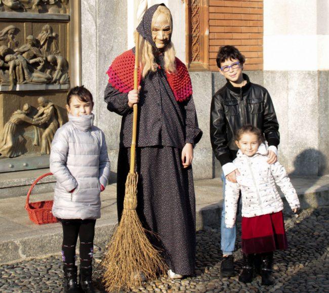 Anche a Borgovercelli è arrivata la Befana