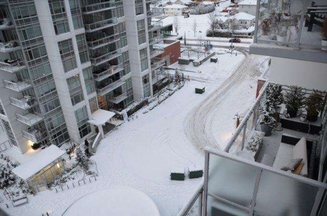 Una vercellese a Vancouver: nevicata eccezionale e reportage