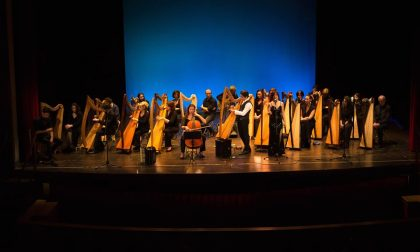 Celtic Harp Orchestra in concerto per celebrare la basilica