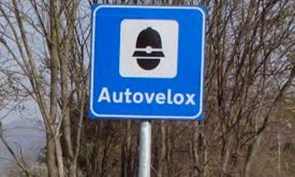 Un autovelox sulla provinciale 11 tra Vercelli e Santhià