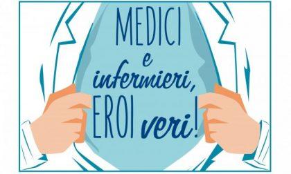 Medici e infermieri, eroi veri: messaggi d'affetto