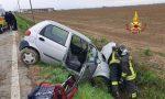 Auto nel canale: ferito soccorso dal 118