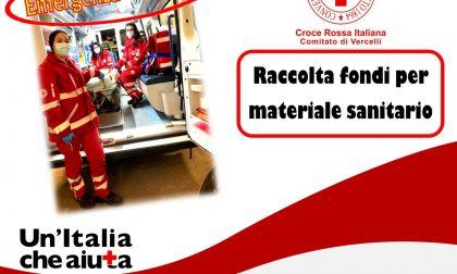 Croce Rossa raccoglie fondi per materiale sanitario
