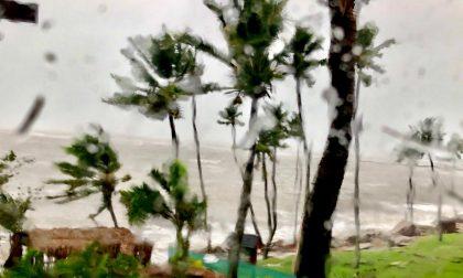 Paolo Ravera fotografa il ciclone Harold