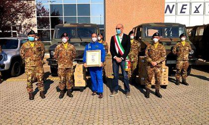 Carlo Olmo fornisce Dpi a mezza regione