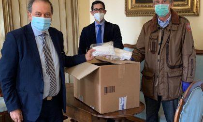 Coronavirus, Rotary Vercelli: mascherine per Anffas, Casa di Riposo e Politiche Sociali