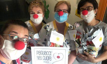 Le uova di Pasqua dei Pagliacci nel Cuore per la pediatria dell'ASL di Vercelli