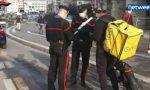 Food delivery: i controlli dei Carabinieri