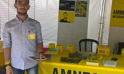 Amnesty International: un vercellese viceresponsabile circoscrizionale
