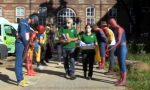 Covid-19: supereroi della Marvel a Torino per ringraziare i volontari