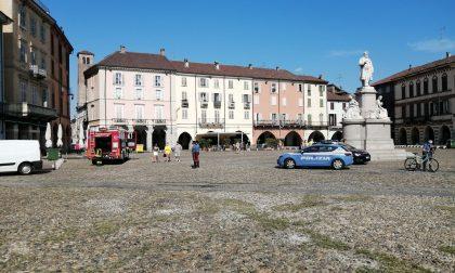 Piazza Cavour bloccata per sospetta fuga di gas