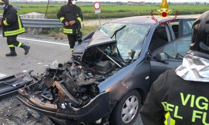 Grave incidente tra Tronzano e San Germano