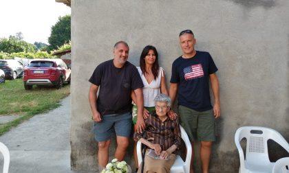 Moncrivello: grande festa per i 100 anni di Mariuccia Sicco