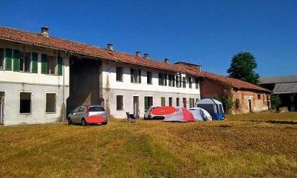 Campeggiatori abusivi al Borgo di Leri