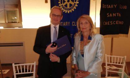 Rotary Sant'Andrea: Laura Minghetti è la nuova Presidente
