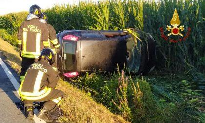 Incidente sulla SP11 tra Tronzano e Cigliano: un ferito