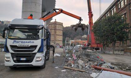 Gruppo Marazzato all'inaugurazione del nuovo ponte di Genova