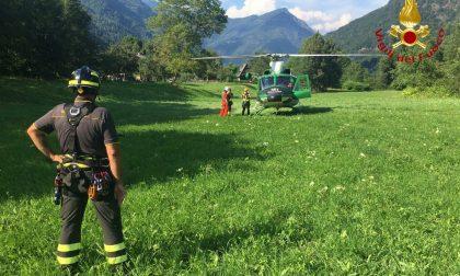 Escursionisti salvati in Valsesia