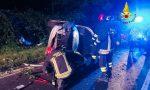 Due feriti in ospedale per incidente a Carisio