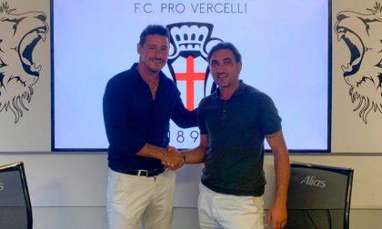 Pro Vercelli Calcio: Modesto è il nuovo allenatore