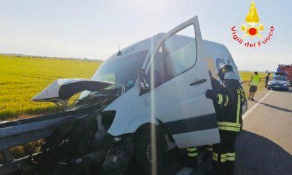 Incidente tra Cascine Strà e San Germano: nessun ferito