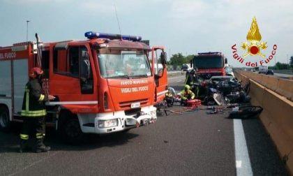 Mortale sull'A4 tra Carisio e Santhià – Video