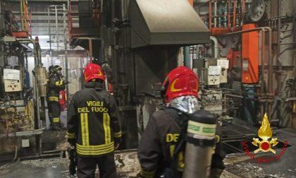 Crescentino: incendio alla Dana Italia