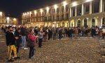 Vercelli No DPCM: in tanti alla manifestazione in piazza Cavour