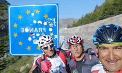 Velo club Vercelli: impresa sulle salite del Tour de France