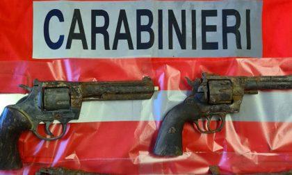 Rinvenute 5 pistole nel canale Cavour