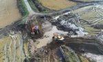Alluvione: i disastri a Motta e Prarolo visti dal drone Ovest Sesia