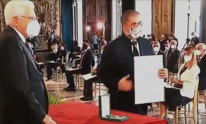 """Carlo Olmo al Quirinale: """"Infinitamente commosso"""""""